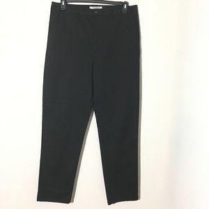Asos Straight Leg Chino Pants Black Sz 10